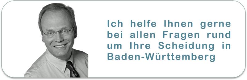 Scheidungsanwalt Baden-Wuerttemberg