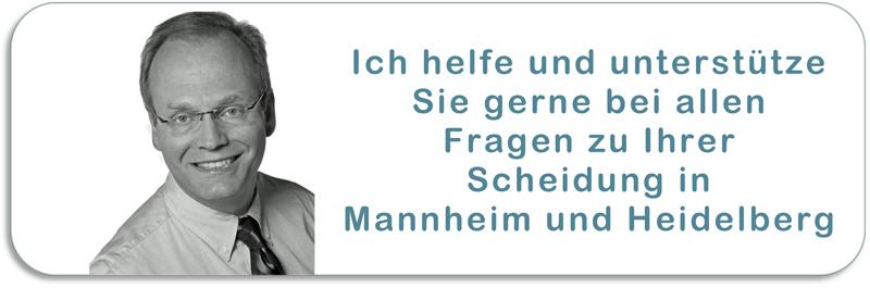 Ihr Scheidungsanwalt in Mannheim und Heidelberg