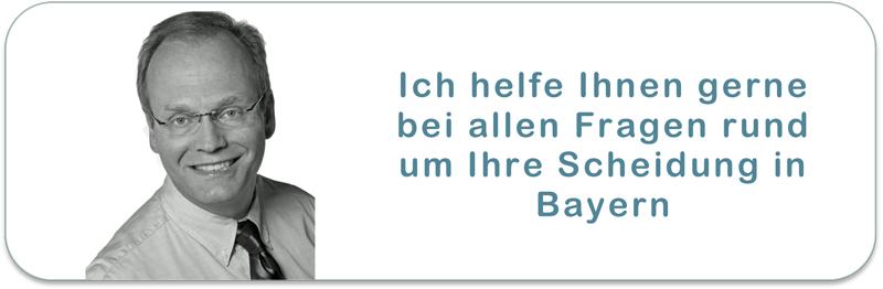 Ihr Scheidungsanwalt in Bayern bei einer schnellen Online Scheidung