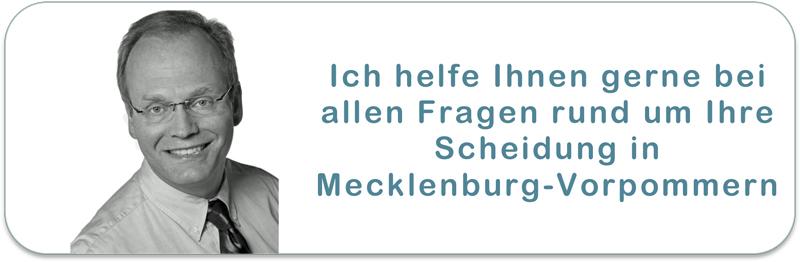 Scheidungsanwalt in Mecklenburg-Vorpommern