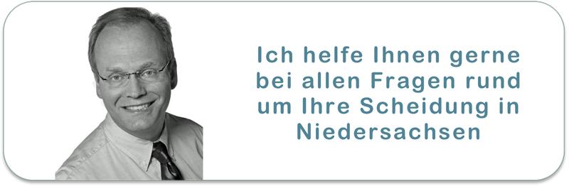 Scheidungsanwalt in Niedersachsen für die moderne Online Scheidung